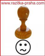 Dřevěné razítko R 15