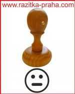 Dřevěné razítko R 20