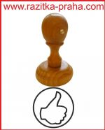 Dřevěné razítko R 30